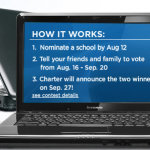 Charter Gives Away Free Laptops To Schools!