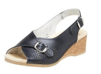 Slingback Women's Sandal Black 583 Worishofer UqYTzxFT