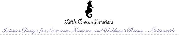 Cottage chic gender neutral nursery design - Little crown interiors ...