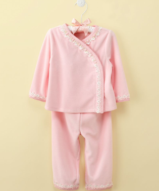 First impressions baby set baby girls two piece velour set sale price