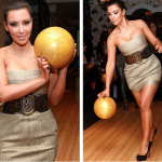 Kim Kardashian's Fancy Bowling Shoes