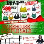 Junior Drake Holiday Sample Sale!