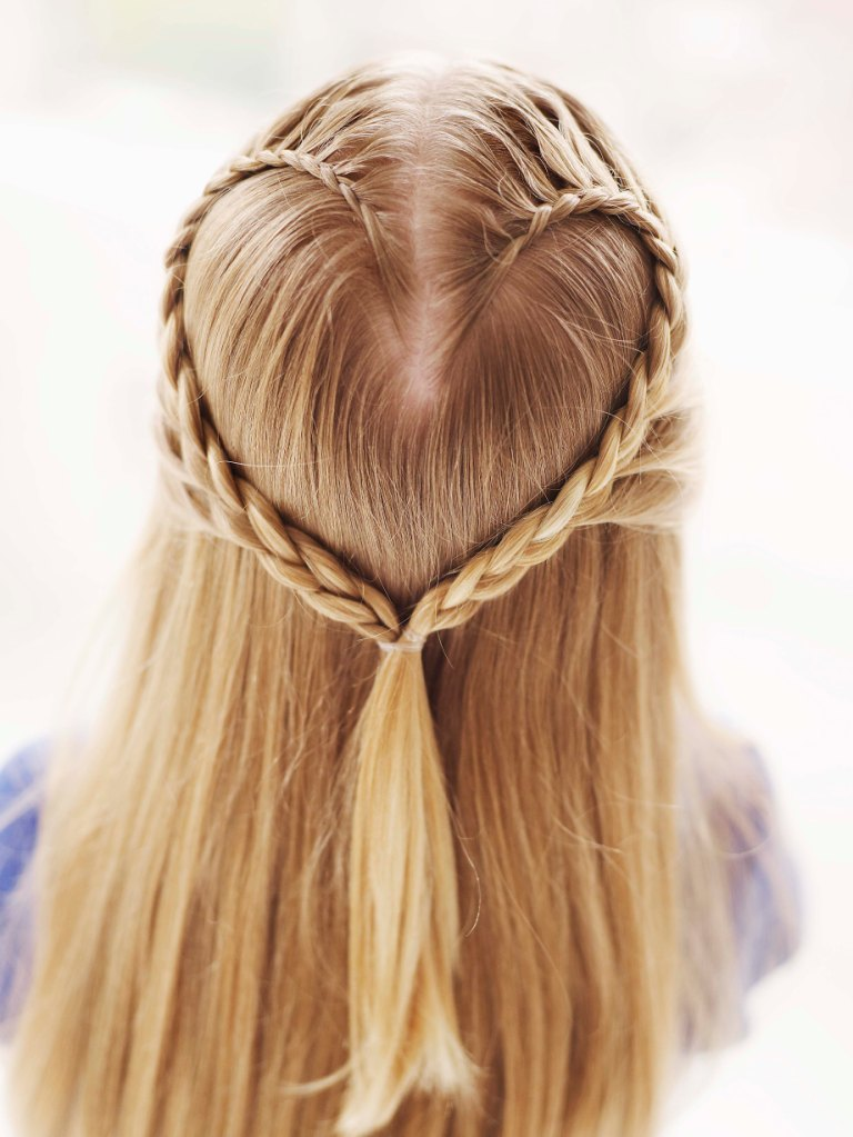 Cute Valentine's Day Hair Style