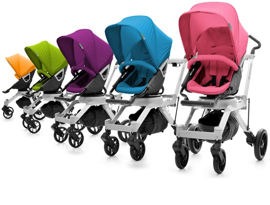 orbit baby introduces 9 stroller accessory color packs for summer 2011. Black Bedroom Furniture Sets. Home Design Ideas
