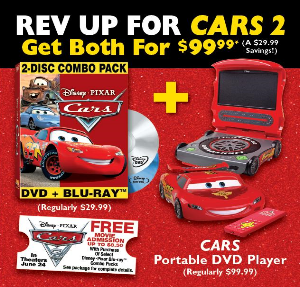 Cars 2 Movie Promotion At Sears
