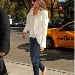 Fall Fashion for Moms- Katie Holmes in Earnest Sewn!