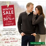 50% off Sale and Free Shipping At Hessnatur