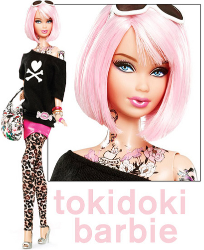 Tokidoki Tattooed Barbie.