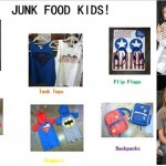 Junk Food Collection With Gap For Kiddies!