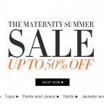 Isabella Oliver 50% off Maternity Summer Sale!