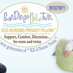 NEW Eco Nursing Pillow from SanDiegoBebe!