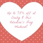 Up to 75% off at Crazy 8!