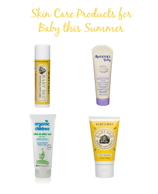 Summer Skin Care: Skin Care Products For Baby This Summer