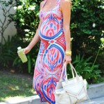 Stacy Keibler's Body Con Maxi Dress
