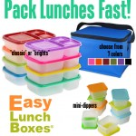 Pack Lunches Faster with Easy Lunch Boxes