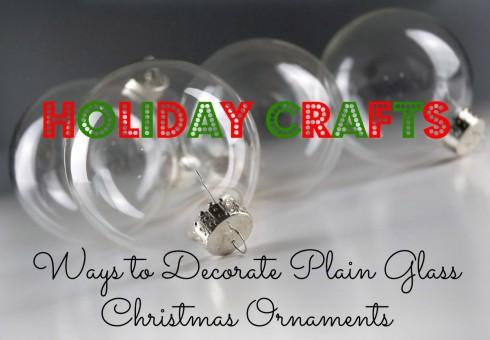 diy clear glass ornaments