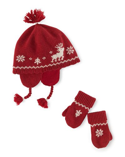 Ralph Lauren Infant Reindeer Hat ( 75.00) For ages three to twenty-four  months eee99905336