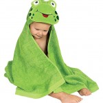 AM PM Kids Animal Hooded Towels
