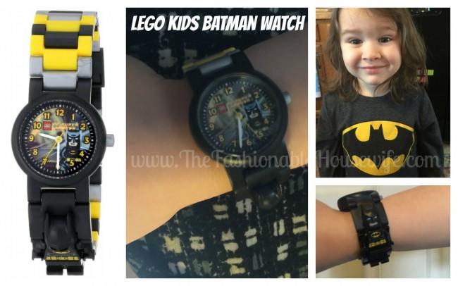 lego kids batman watch