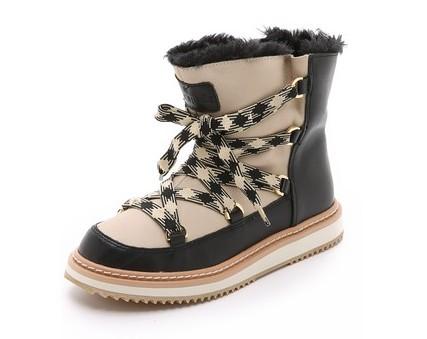 kate spade fur boots