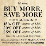 Drop Everything for Shopbop's Buy More, Save More Sale!