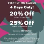 Shopbop's Sales Event of The Season
