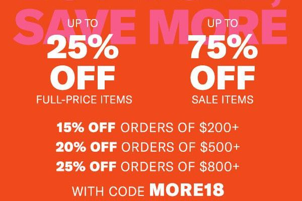 Shopbop's Biggest Sale of The Season Is Here!