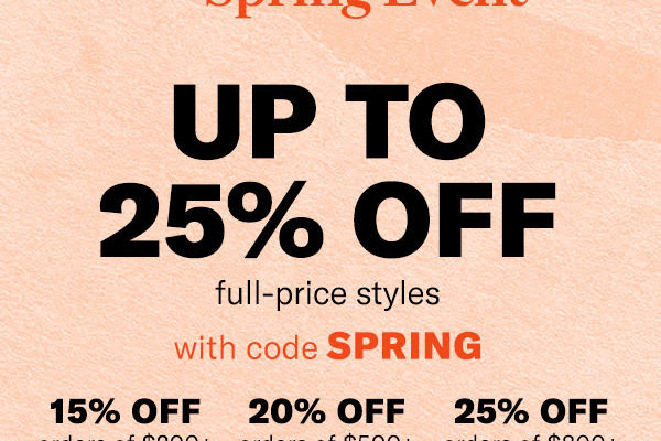 Shopbop Spring Sales Event!